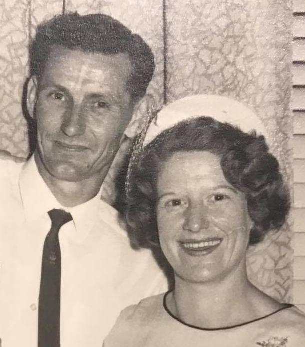 Frank and Joyce Hawkins. (Courtesy of son Craig Hawkins)